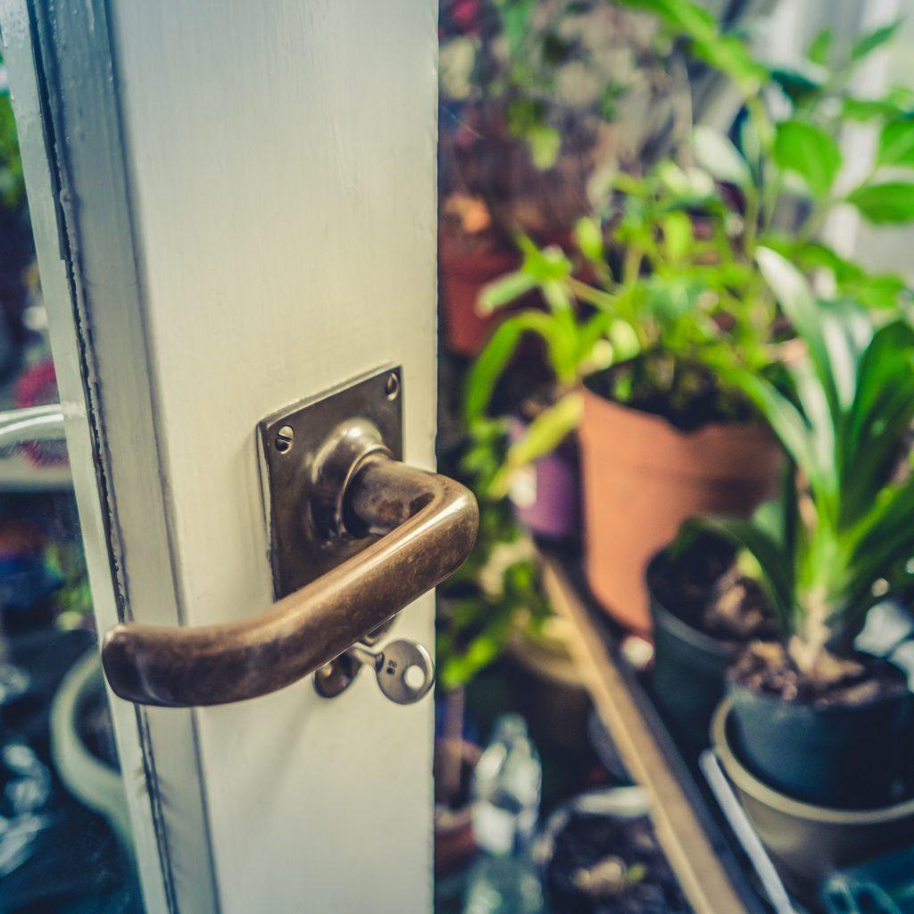 Summer Conservatory Door